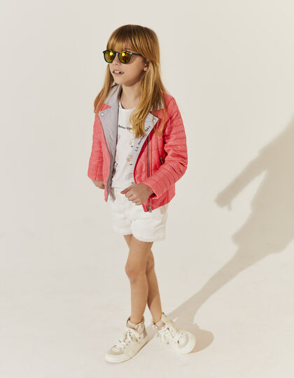 Pink padded jacket - IKKS Junior